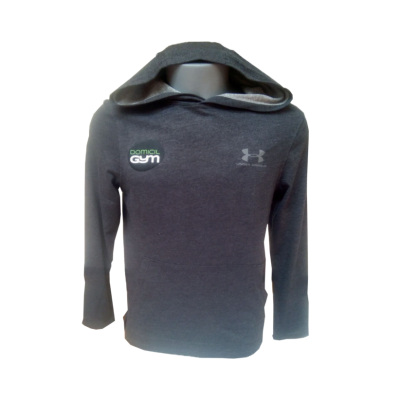 UA Tech Sweat Capuche Anthracite