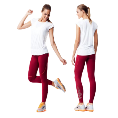 Legging Fitness Rouge Amanda