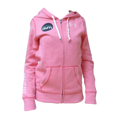Maillot UA Favorite Fleece Full Zip - knock out