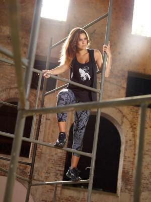 Legging sport mi long Loca