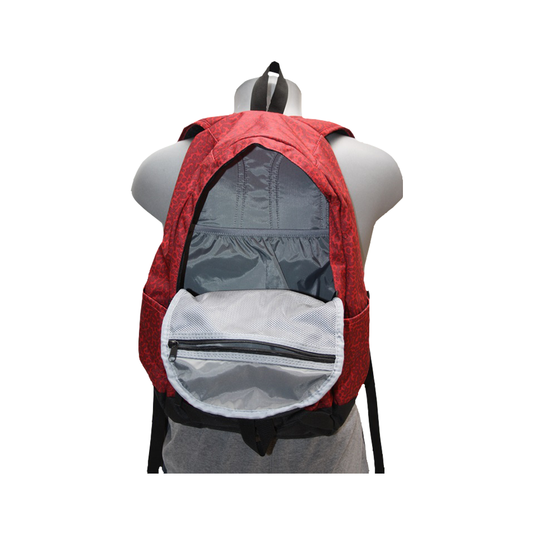 Sac a dos sport camouflage rouge nike 5