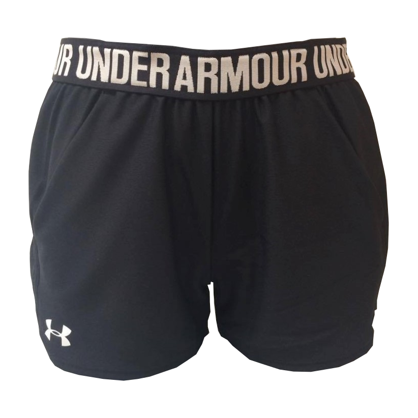 Short sport under armour noir femme 2