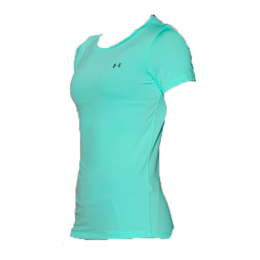 T shirt sport under armour vert eau femme 2
