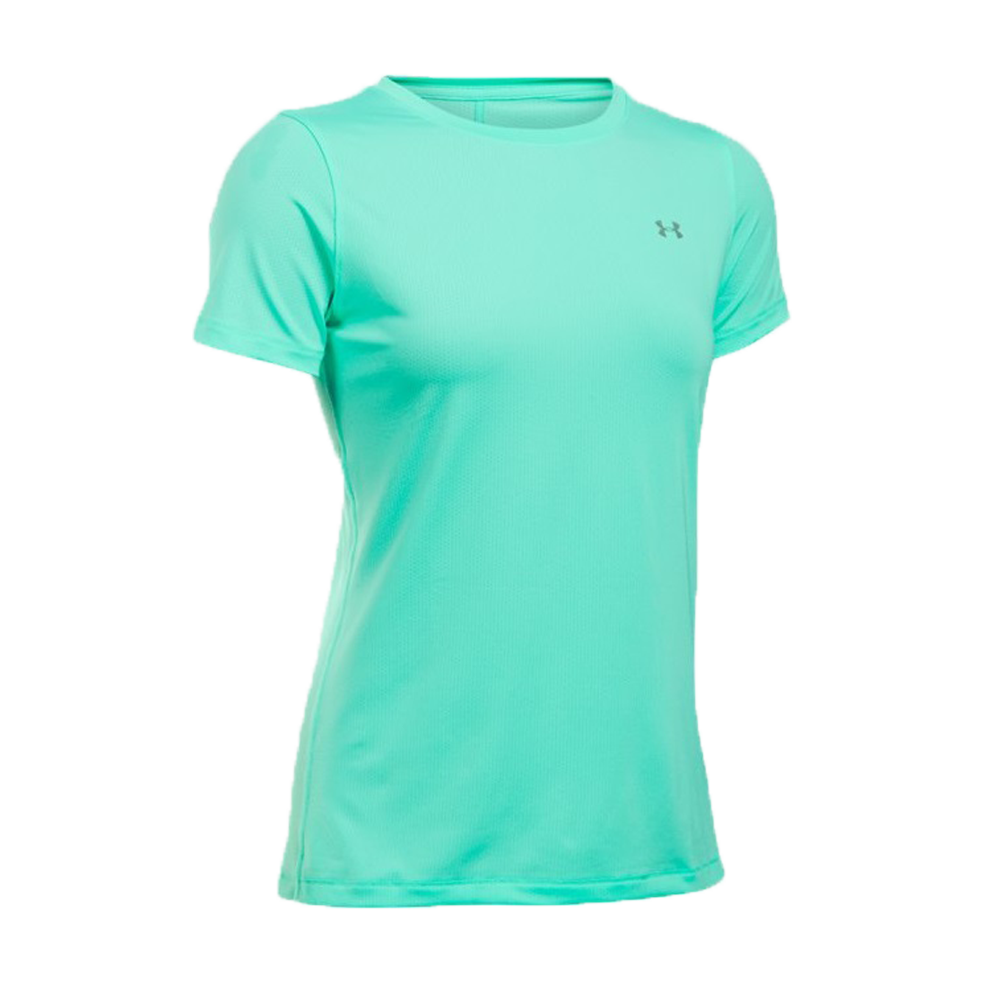 T shirt sport under armour vert eau femme