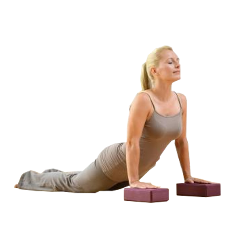 Yoga block block yoga stretching relaxation detente bien etre