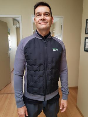 HYBRID JACKET, LOGO DOMICIL'GYM