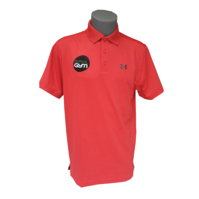 UA Polo rouge rose