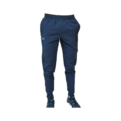 Pantalon UA NoBreaks Stretch-Woven Run - Noir