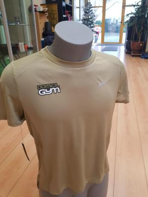 TEE SHIRT NIKE DRI FIT COULEUR MARRON VERT