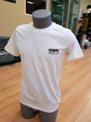Tee shirt Stella Lover avec Logo Domicil'gym COLOURS - BLANC