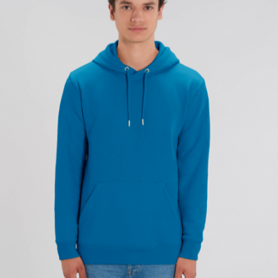 LE SWEAT-SHIRT CAPUCHE ICONIQUE UNISEXE- Royal Blue