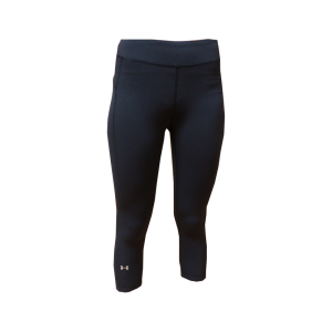 Corsaire legging noir sport fitness under armour noir 2