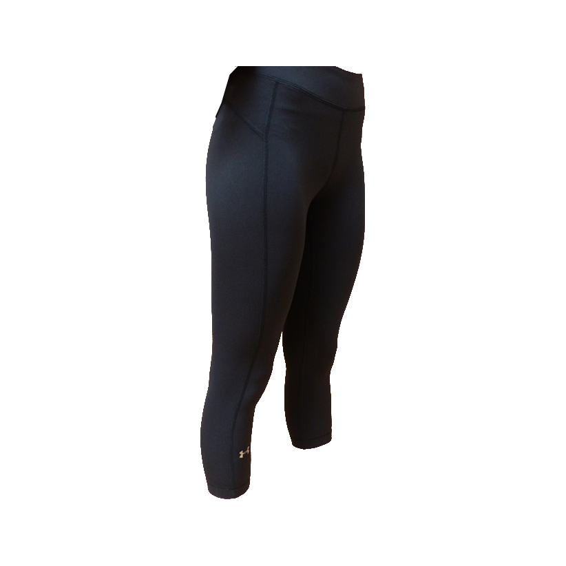 Corsaire legging noir sport fitness under armour noir