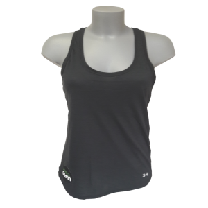 Debardeur top femme noir sport fitness under armour