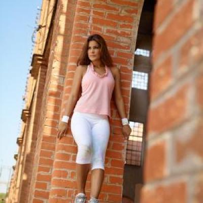 Legging court Blanc Toy