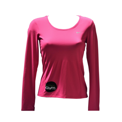 Tee-shirt manches longues dry fit-rose