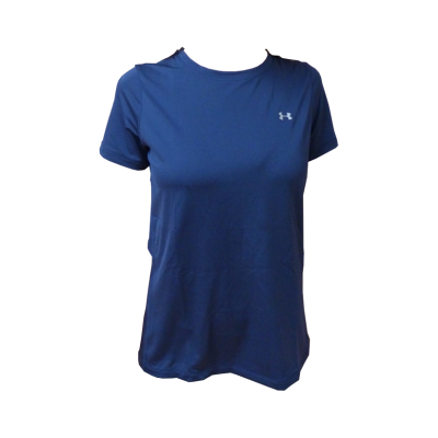 T-Shirt UA HeatGear® Armour Short Sleeve - Marine