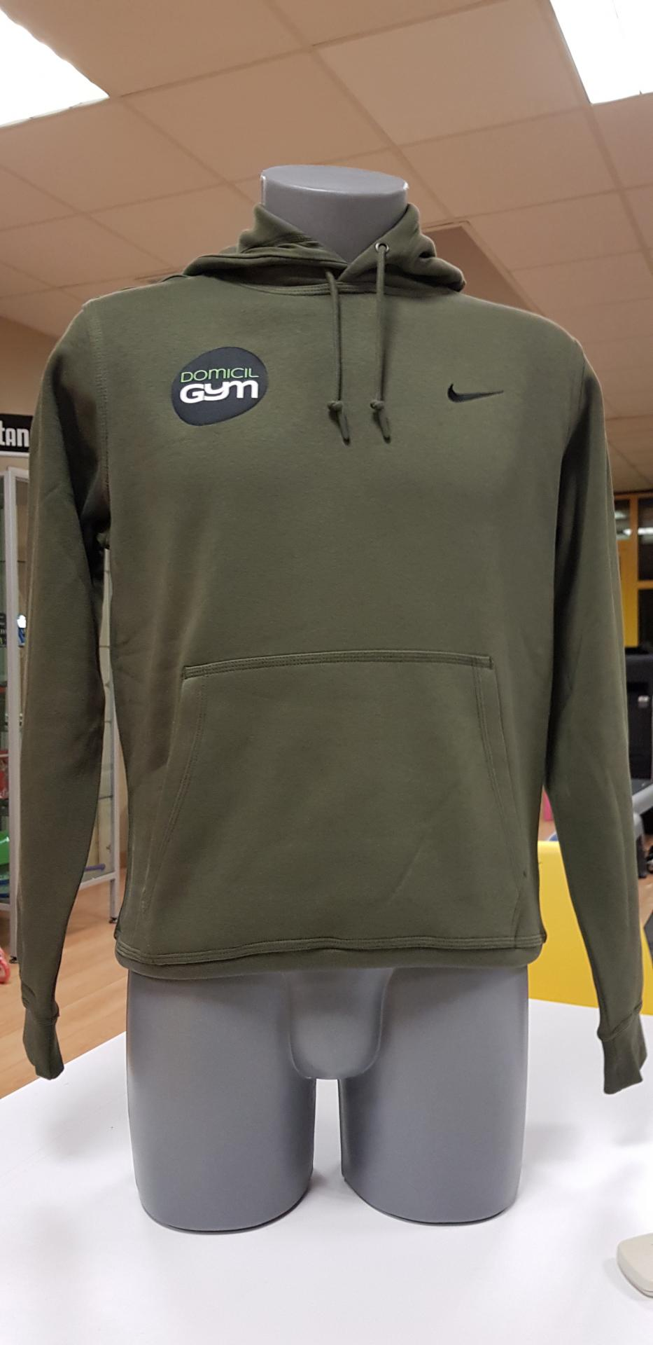 uk cheap sale great prices buy popular Sweat capuche Nike vert kaki