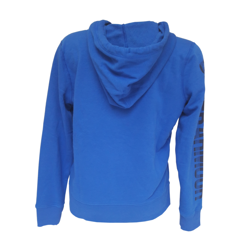 Veste sweat zippe femme bleu sport fitness under armour 3